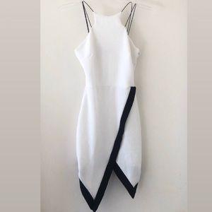 White Asymmetrical Dress 😍